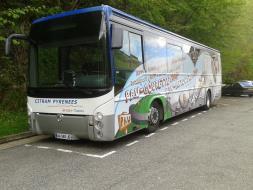 Bus Transports 64 / Gourette, station de ski dans les Pyrénées-Atlantiques