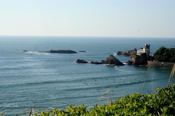 Spot de la Côte des Basques à BIARRITZ