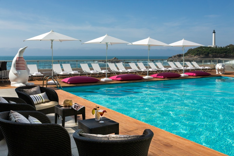 H tel sofitel biarritz le miramar thalassa sea spa for Piscine 95