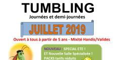 Mini stage de trampoline tumbling