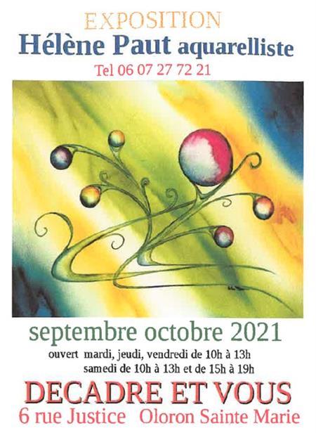 Exposition Hélène Paut aquarelliste
